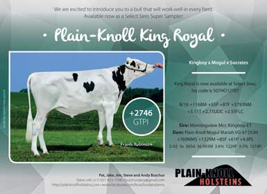 King Royal Holstein International 9-2016
